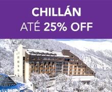 CHILLAN – até 25% OFF