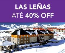LAS LENAS – até 40% OFF