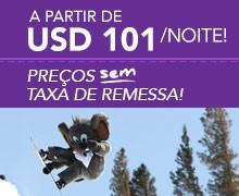 MAMMOTH – de USD 101/noite