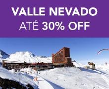 VALLE NEVADO – até 30% OFF