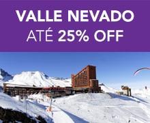 VALLE NEVADO  até 25% OFF