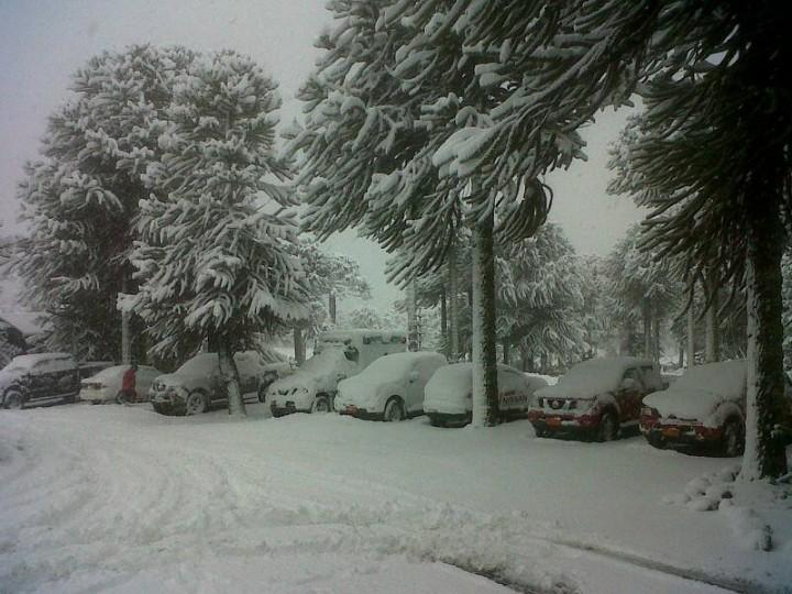 Corralco (Chile) em 03/06