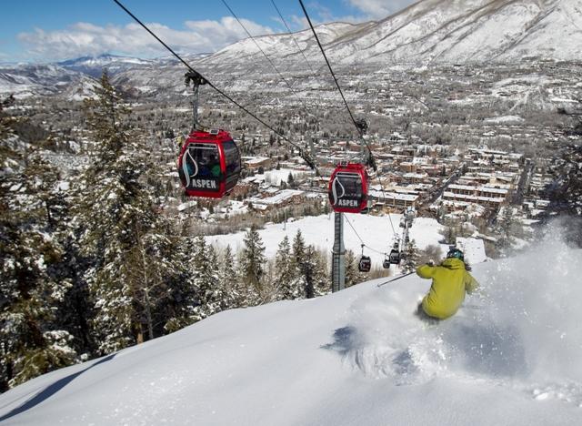 Foto da última temporada de Aspen
