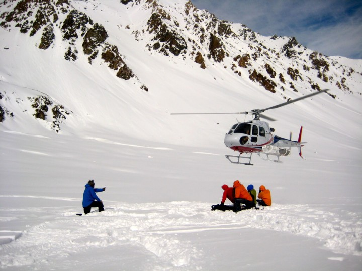 Heli Ski em Portillo