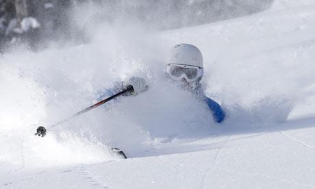 Exemplo de neve powder!